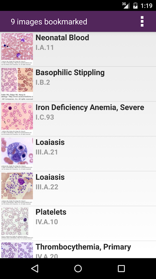 Lichtman's Atlas of Hematology Screenshot 7