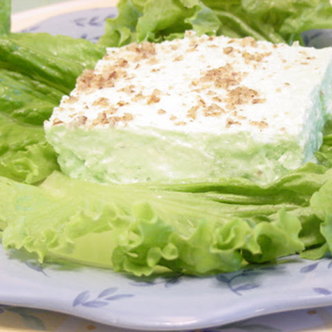 Furr's Light Green Jell-O Salad