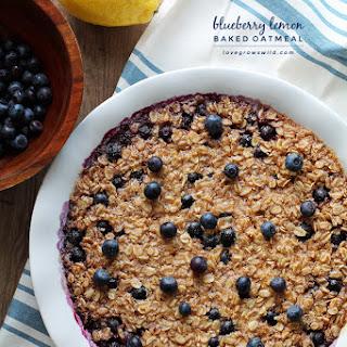 Blueberry Lemon Oatmeal Recipes
