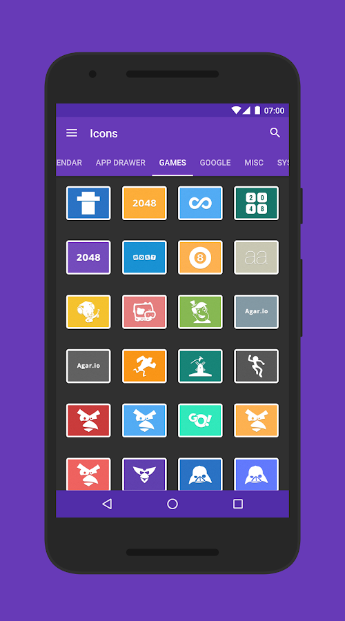 Lai - Icon Pack Screenshot 2