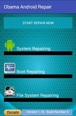android Obama Android Repair Screenshot 0