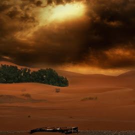 merzouga by Moussa Idrissi - Digital Art Places