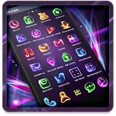 App Neon Light Icon Packs (Theme) APK for Windows Phone