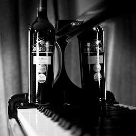 Stoneycroft Black and White by Corinna Tannian - Food & Drink Alcohol & Drinks ( wine, vineyard, wine bottle, nikon )