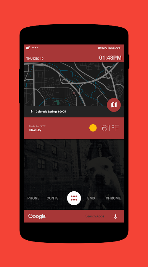 City Bound for KLWP Screenshot 4