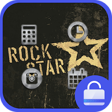 Rock Music Locker theme