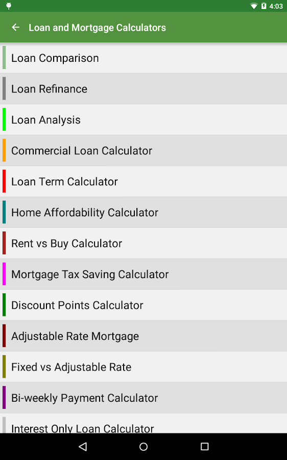 Financial Calculators Pro Screenshot 19