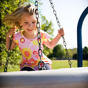 Spinning in the Spring by Kevin Stacey - Babies & Children Children Candids