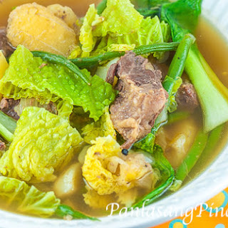 Slow Cooked Beef Nilaga Soup