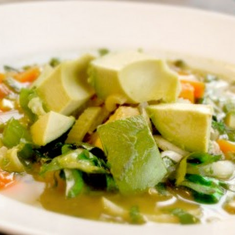 Loaded Chicken Vegetable Soup