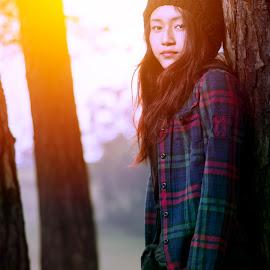 effect sun by Freddie Duhlian - People Fashion