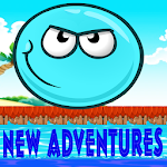 Blue Ball New Adventure Game:Jump,bounce Icon