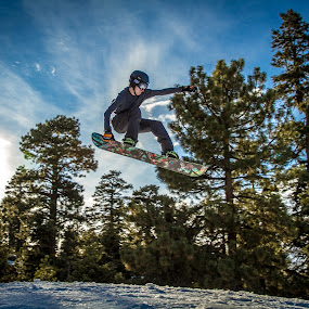 Tail Grab by Jay Woolwine Photography - Sports & Fitness Snow Sports ( snowboard, snowboarding, snowboarder )