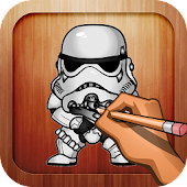 Free Draw star wars heroes lessons APK for Windows 8