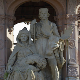 The Doulton Fountain by Ray Rosher - Buildings & Architecture Statues & Monuments ( scotland, terracota, glasgow, fountain, palace, doulton )
