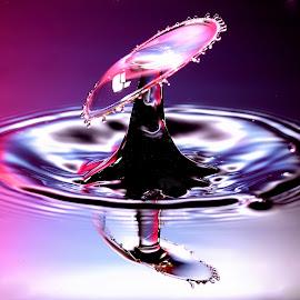 Water Magic by Nirmal Kumar - Abstract Water Drops & Splashes