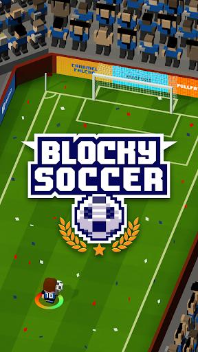 Blocky Soccer screenshot 12