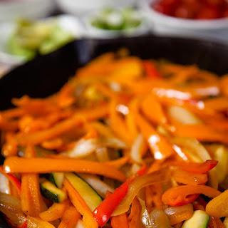 Mexican Vegetable Fajitas