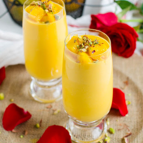 Healthy Indian Mango Lassi