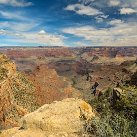 Grand Canyon by Ralph Resch - Landscapes Mountains & Hills ( grand canyon )