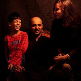 The family thing by Fawad Hashmi - People Family