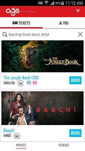 AGS Cinemas screenshot 2