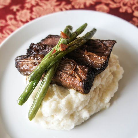 Crock Pot BBQ Brisket and Grits