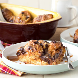 Almond Croissant Bread And Butter Pudding Recipes