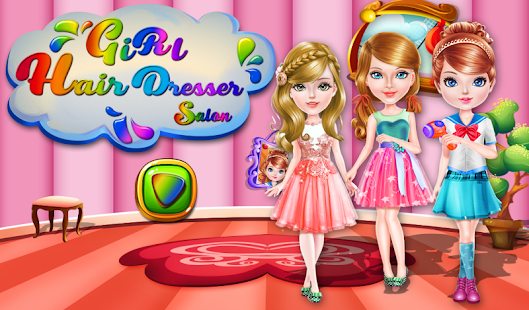 Girls Hairdresser Salon- screenshot thumbnail