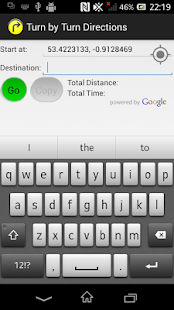 Turn by Turn Directions - screenshot