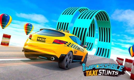 Taxi Car Stunts Games: Ramp Car Impossible Tracks for pc