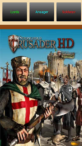 android Stronghold-Crusader Soundboard Screenshot 0