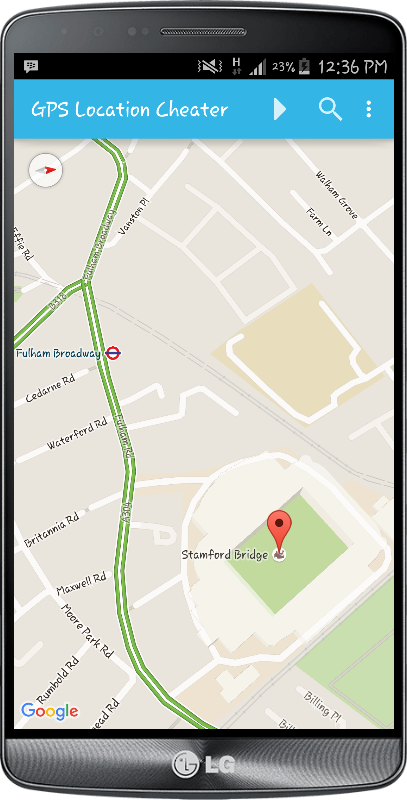 GPS Location Cheater PRO Screenshot 3