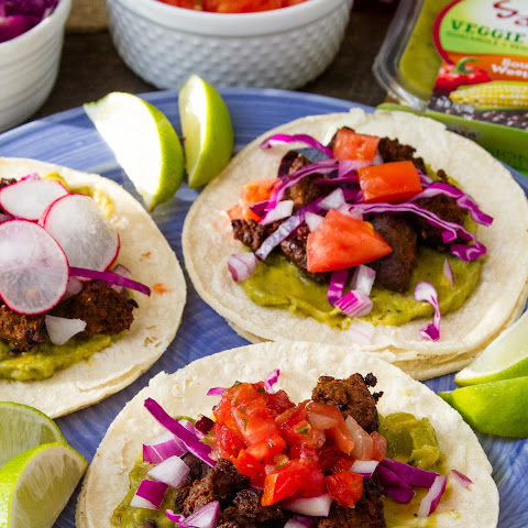 Chorizo Tacos with South-Western Guacamole