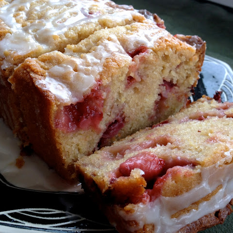 Strawberry Lemon Yogurt Cake