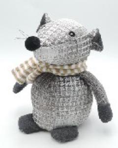 Игрушка мягконабивная плюшевая Мышонок-стоппер, Город Игр