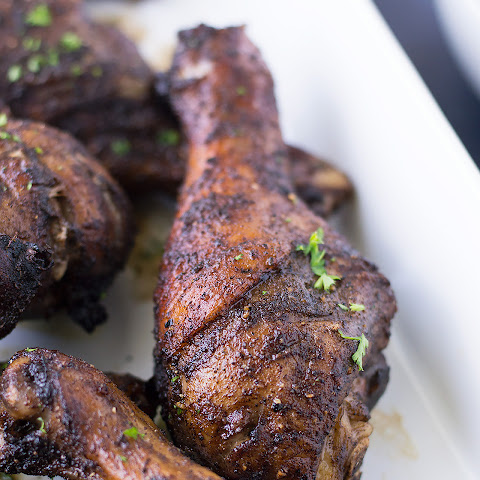 Easy Jerk Chicken Legs