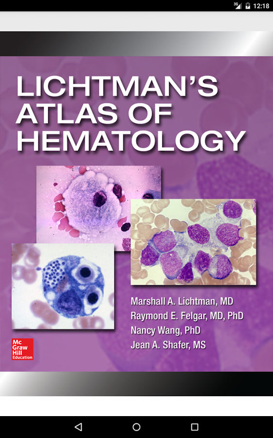 Lichtman's Atlas of Hematology Screenshot 16