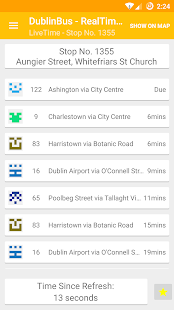 Times For Dublin Bus - screenshot