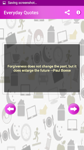 android Everyday Quotes & Status Screenshot 5