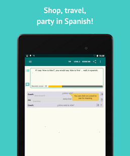 Download Learn Spanish with SpeakTribe APK for Android Kitkat
