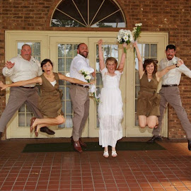 Wedding party by Brenda Shoemake - Wedding Groups