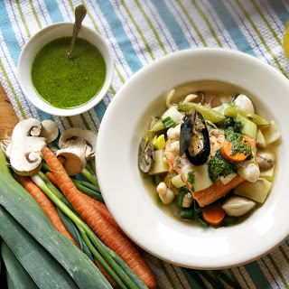 Slow Cooker Seafood Pot-au-Feu
