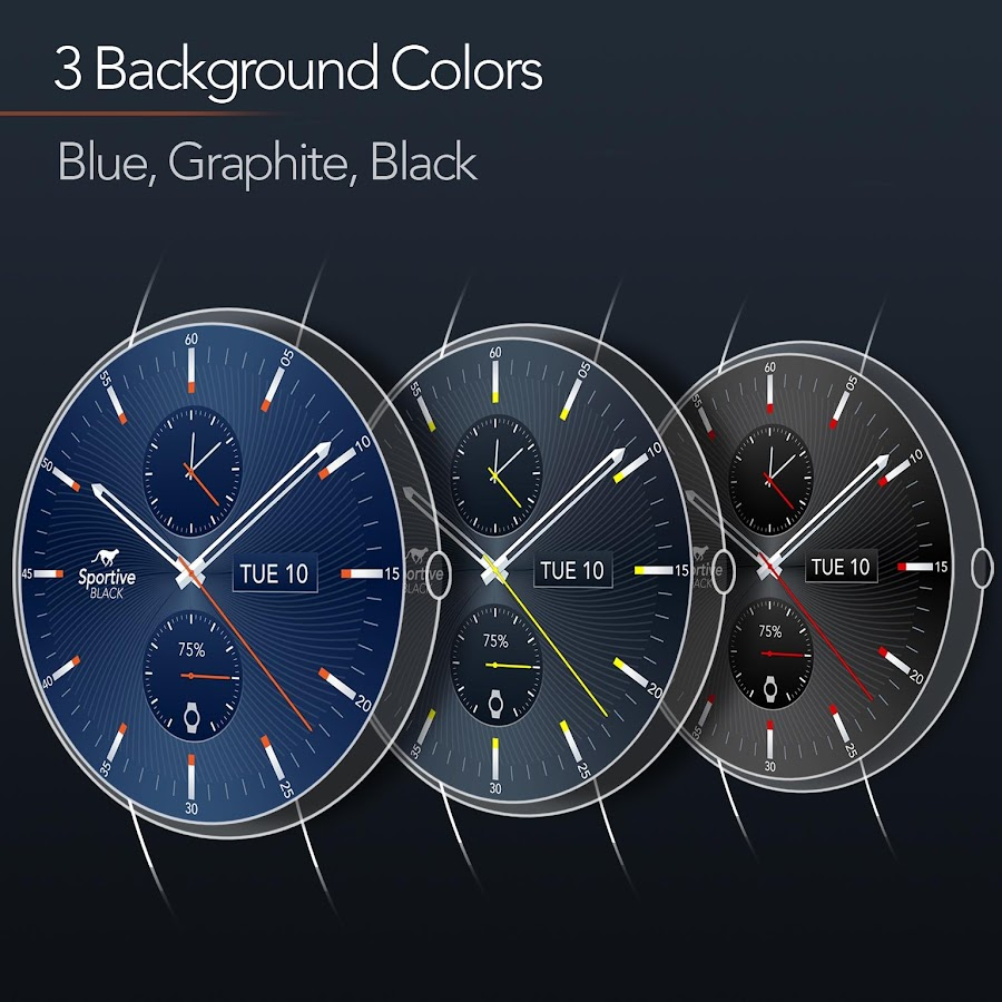 Sportive Watch Face Screenshot 15