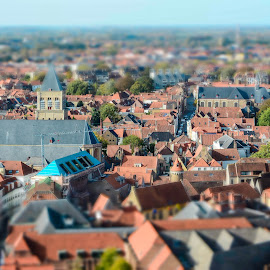 Bruges by Stefania Loriga - City,  Street & Park  Vistas (  )