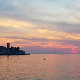 sunset in Porec by Patrizia Emiliani - Instagram & Mobile Android ( sunset, porec,  )