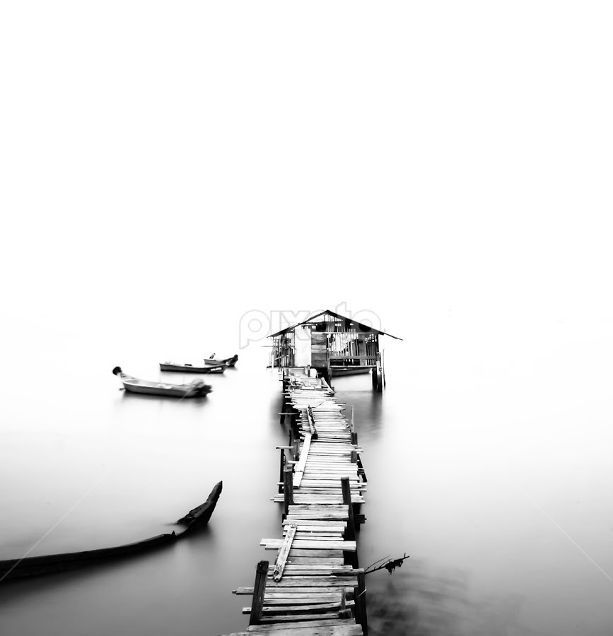 Nowhere by Härris McHörrör - Landscapes Waterscapes