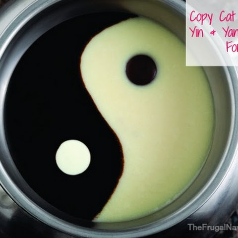 Copy Cat Melting Pot Yin & Yang Chocolate Fondue