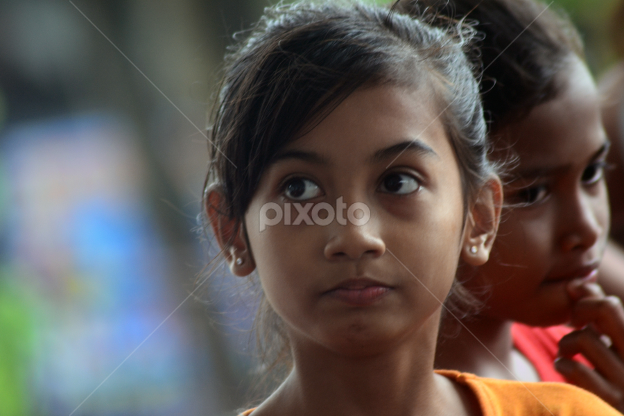 Facing the Future by Thomas Chedang - Babies & Children Children Candids