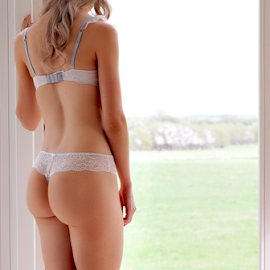 Georgina by Adriaan Oosthuizen - Nudes & Boudoir Boudoir ( blonde, lingerie, boudoir )